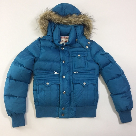 43a2bed53 True Religion Down Puffy Jacket NWOT